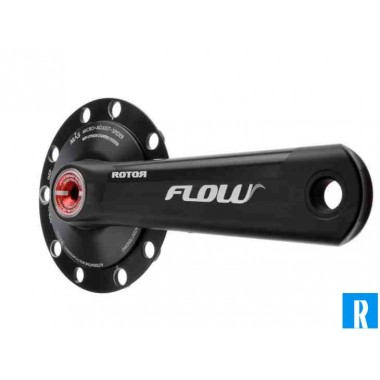 Rotor Flow crankset 130BCD Double (Rotor)