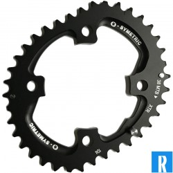 O.Symetric Oval Chainring 104BCD 4-arms outerblade 38 XTRM980