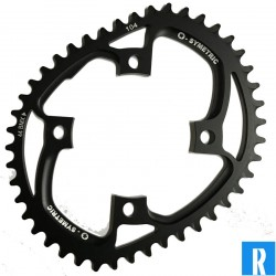 O.Symetric Oval Chainring 104BCD 4-arms singlespeed BMX
