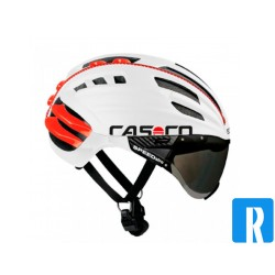 Casco SPEEDairo white bike helmet