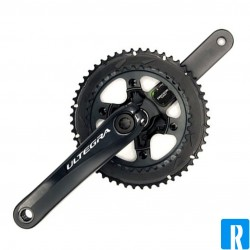 Ogival oval chainring MTB