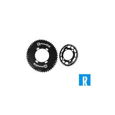 Rotor QRing 110BCD 4-holes new compact inner-outerblade (Rotor)
