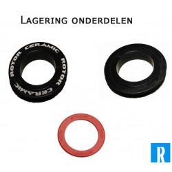 Rotor lagering onderdelen