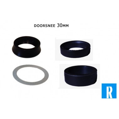 Rotor spacers voor 30mm as