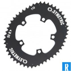 O.Symetric Oval Chainring 113BCD 5-arms outerblade Campagnolo