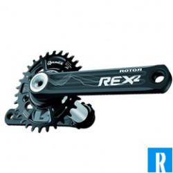 Rotor crankset REX2.1 ATB Singlespeed