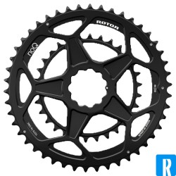 Rotor NoQ Double direct mount Spiderring 46-30