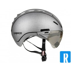 Casco Roadster helmet and visor color: Silver