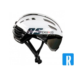 Casco SPEEDairo white - black bike helmet
