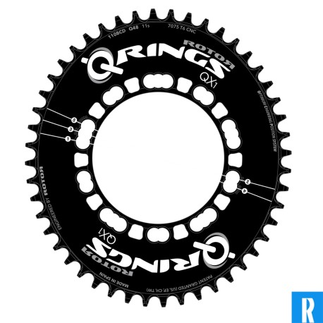 Rotor Q-Ring 110BCD road singlespeed QX1