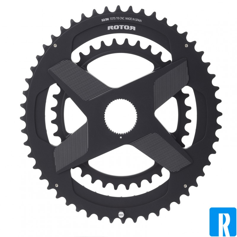 Rotor Noq Double Direct Mount Spiderring 46 30
