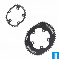 O.Symetric Oval Chainring 113BCD 5-arms innerblade 38 Campagnolo