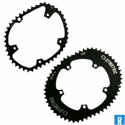 O.Symetric Oval Chainring 135BCD 5-arms innerblade 44 Campagnolo