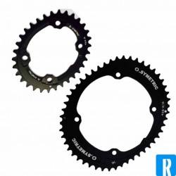 O.symetric 112BCD 4-arms inner chainring campagnolo