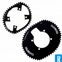O.Symetric Oval Chainring 110BCD 4-arms ErgoAero innerblade