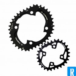 O.Symetric Oval Chainring 4-arms XT M785