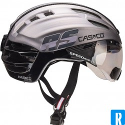 Casco SPEEDairo silver - black bike helmet