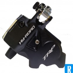 TRP HY/RD post mount schijfrem hydro-kabel race zilver en zwart