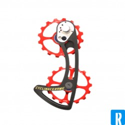Ceramic Cycling oversized pulley wheel system for Shim Ultegra and DA 110v & 11v
