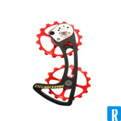Ceramic Cycling oversized pulley wheel system for Sram Mechanical (only for Red, Force, Rival)