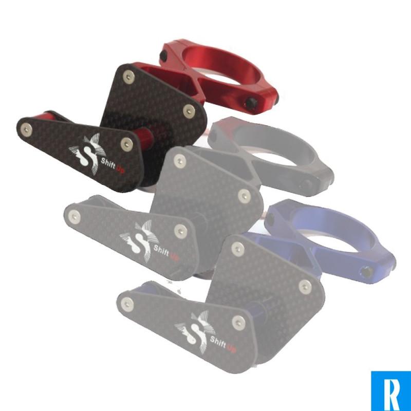 Shift Up kettinggeleider high mount rood/zwart