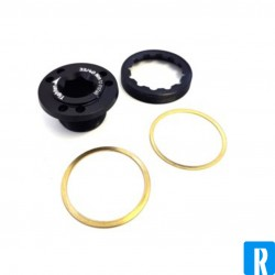 Rotor Crank Bolt 2INpower Left Black