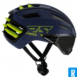 Casco SPEEDairo2 RS blue neon-yellow