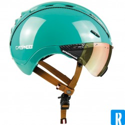 Casco Roadster Plus helmet electric bike Colour: 'Shiny Turquoise'
