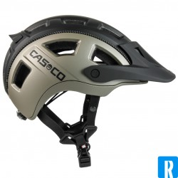 Casco MTBE  2 helmet MTB Colour:  black titan structure