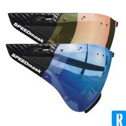 Casco SPEEDmask visor - Sunset and  Ocean