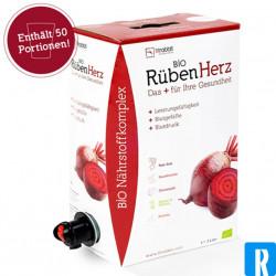 Rubenherz bio beetrootjuice+ 12 sachets