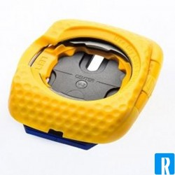 Speedplay walkable cleats yellow
